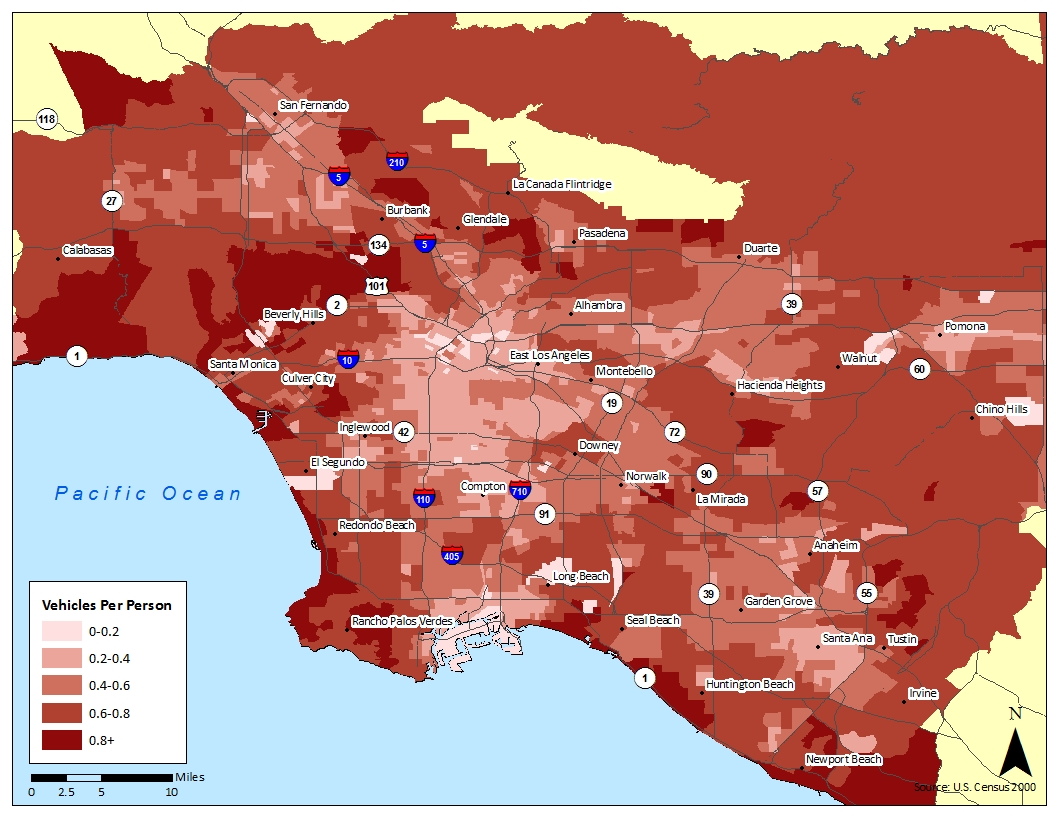 Los Angeles Neighborhood Map Tourism Fiji Maptitude This Map - Los angeles map gangs