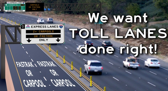 Express Lane California >> Will Metro Rue The Day It Decided To Require Transponders