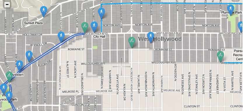 West Hollywood Launches New Website Looking for Bicycle/Pedestrian on map of tarzana ca.91356, palisade high school california, map of north hollywood ca, map of west hollywood boundaries, map of north west hollywood, map of glendive montana, map of los angeles county, map of in los angeles 90049, map of warren rhode island, map of tinley park illinois, map of la and hollywood, map of smithfield rhode island, map of hollywood hills california, map of washington pennsylvania,
