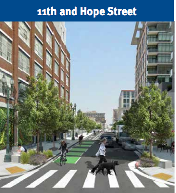 MyFigueroa! Plan for LA's First Protected Bike Lanes ...
