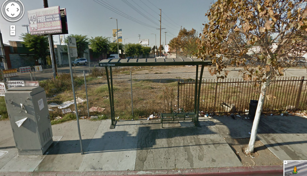 "You can play the ever-popular ""Name the origin of that fluid!"" game at stops like this one at Gage and Western. (Google map Screenshot)"