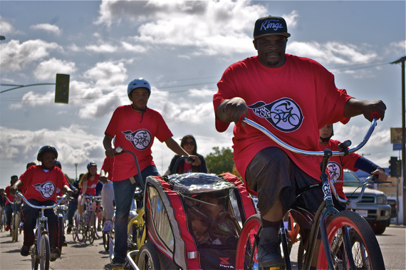 The Ride4Love has always been about family, community, and service. Sahra Sulaiman/LA Streetsblog