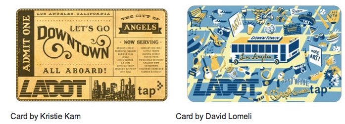 Winners of the LADOT TAP Design Contest. Full press release after the jump.