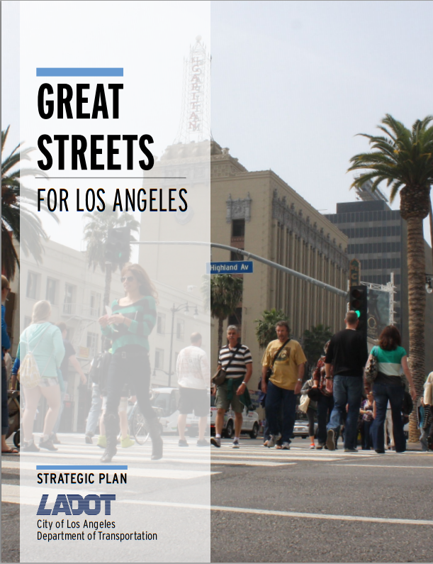 Cover of LADOT's bold new strategic plan. View full document here.