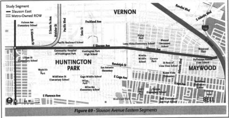 The Slauson option. (Feasibility Study)