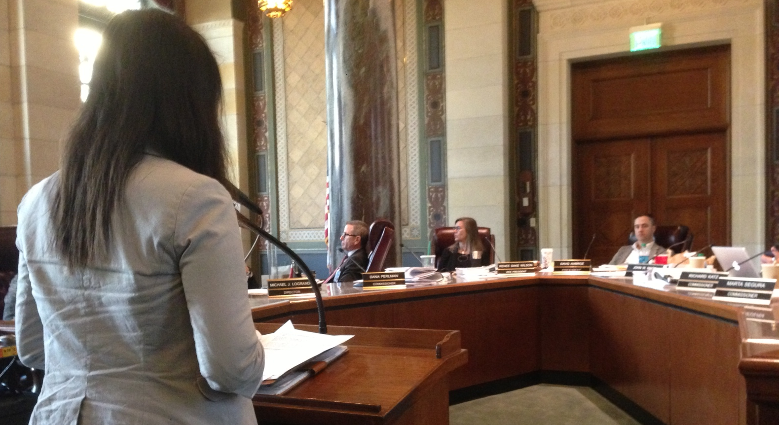 My Law presents on Mobilty Plan 2035 at L.A.'s Planning Commission