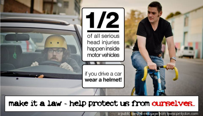 Image: ##http://www.treehugger.com/bikes/more-why-we-shouldnt-have-mandatory-helmet-laws.html##Tree Hugger##
