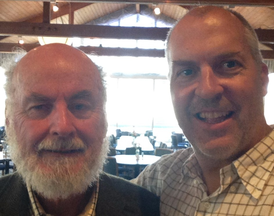 Selfie with Don Shoup. Photo by Joe Linton/Streetsblog L.A.