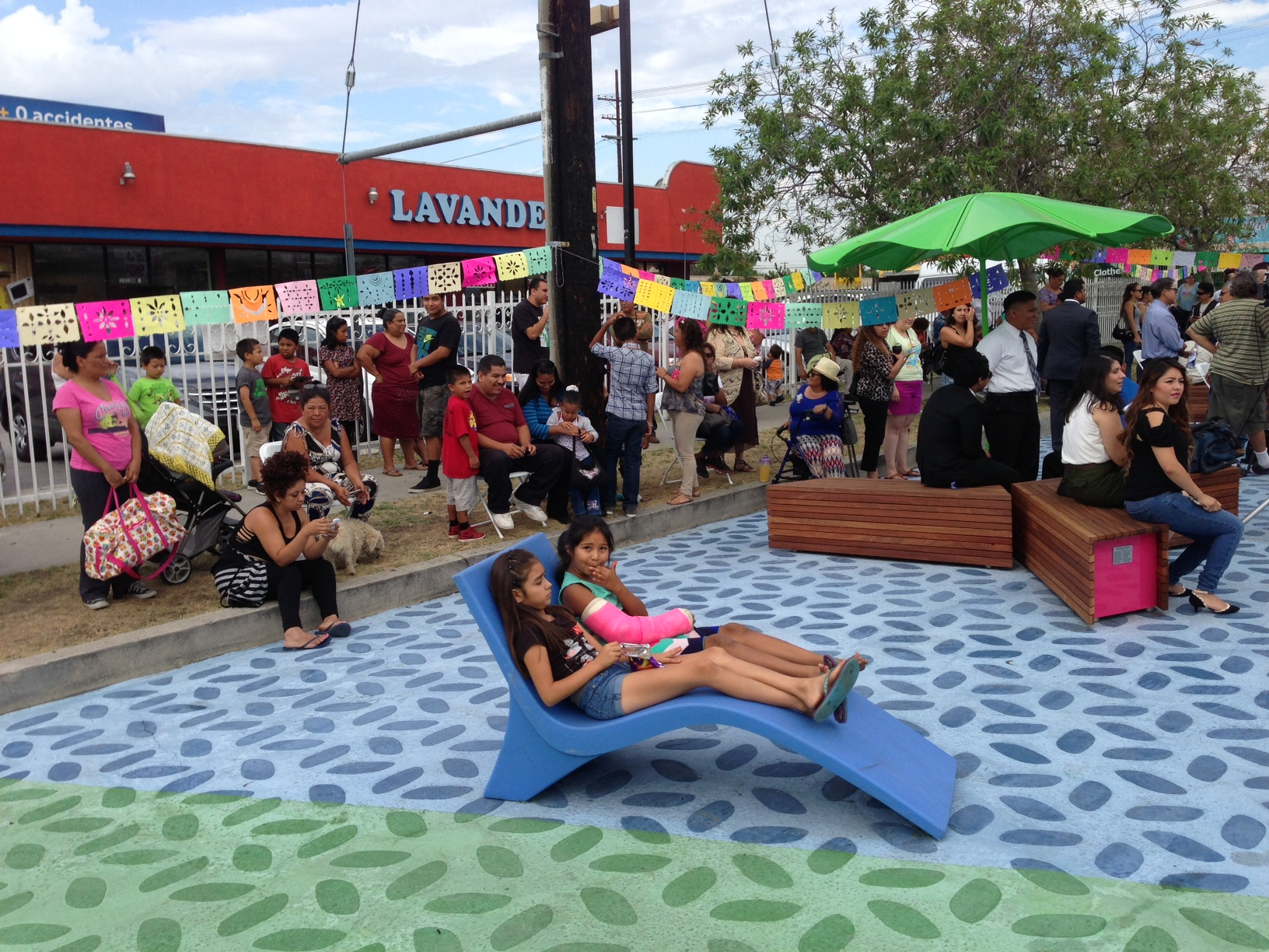 Pacoima Beautiful efforts bore fruit in the July opening of Bradley Plaza