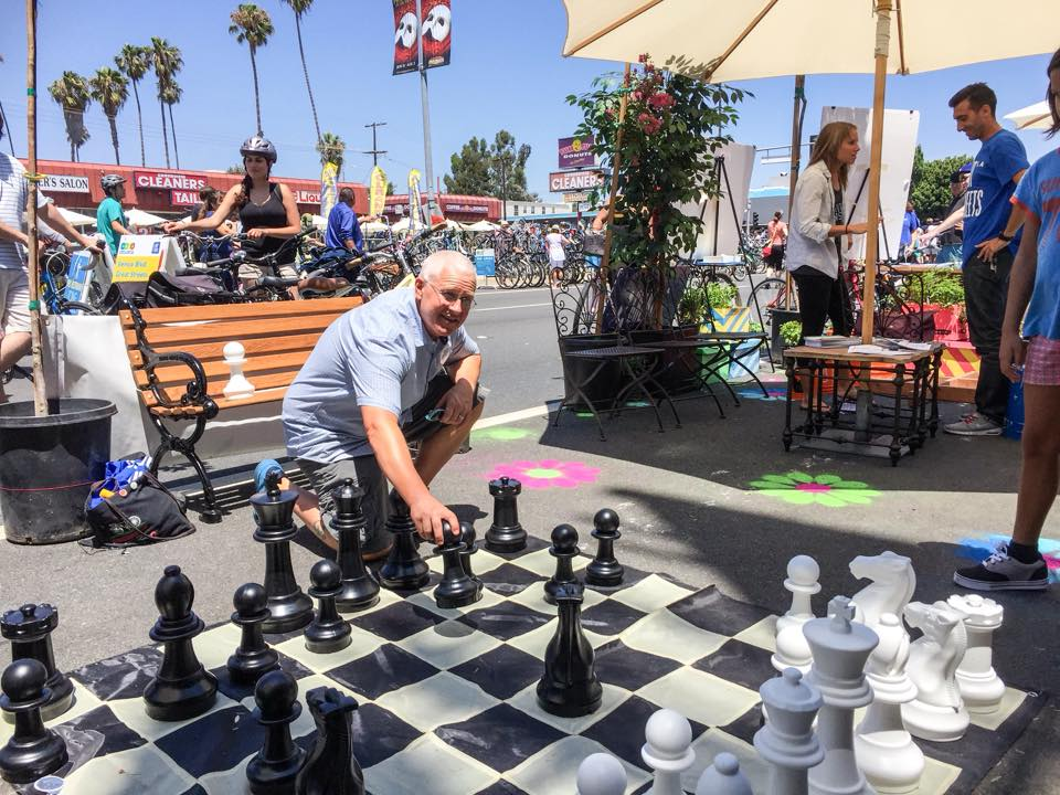 Building support for a Great Street is a lot like chess, right Mike?