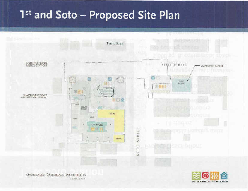 The new configuration for the 1st and Soto site. Rendering: