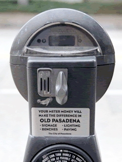 Pasadena parking meter revenue returns to neighborhoods where it is collected. Soon L.A. may implement a similar program.