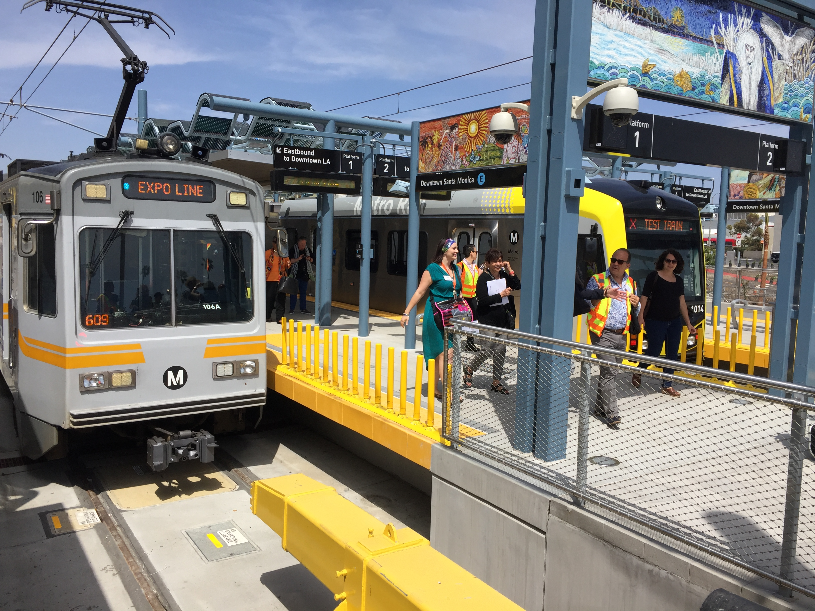 The Expo Line To Santa Monica Is Now Open