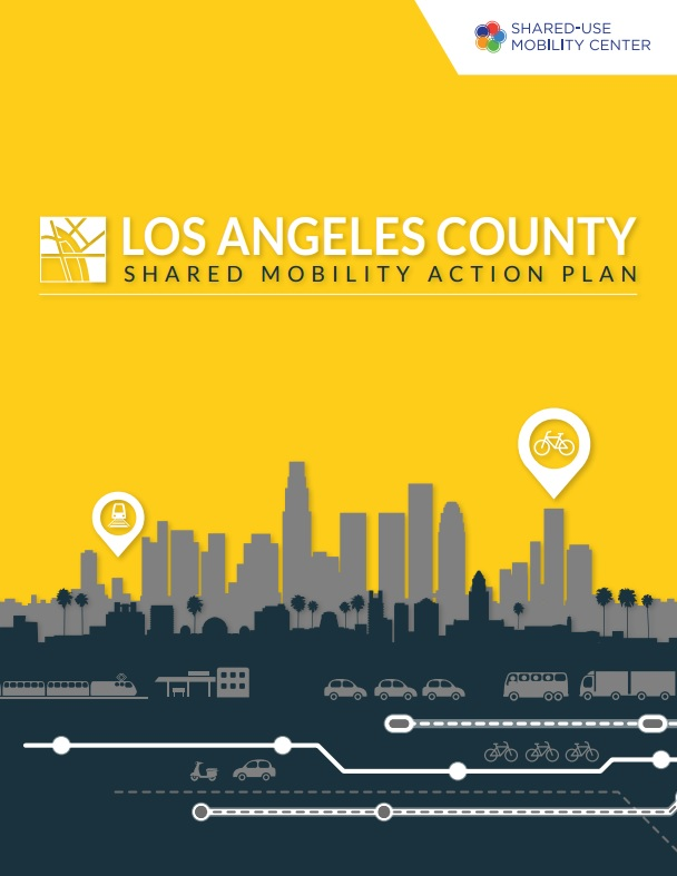 Cover of Los Angeles County Shared Mobility Action Plan [PDF]