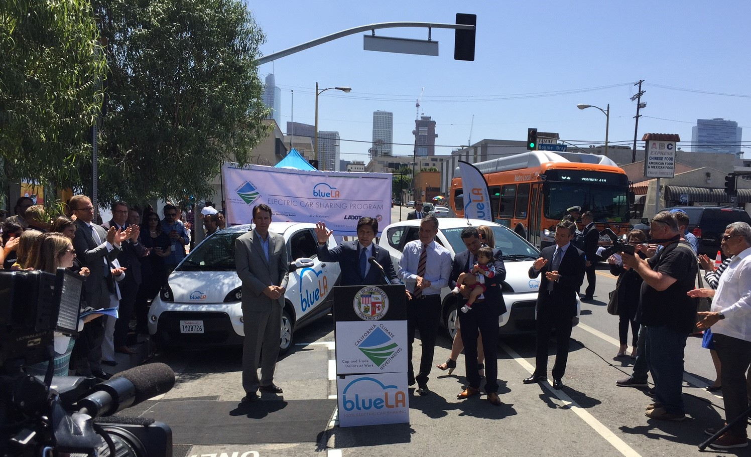 LADOT And BlueLA Partner For Low-Income Electric Car Share
