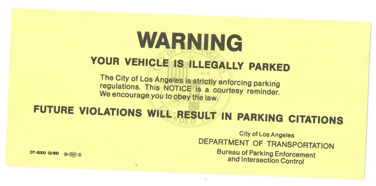 City Of Los Angeles Parking Violation >> Parking Round Up Parkway Enforcement Smart Boot Expo