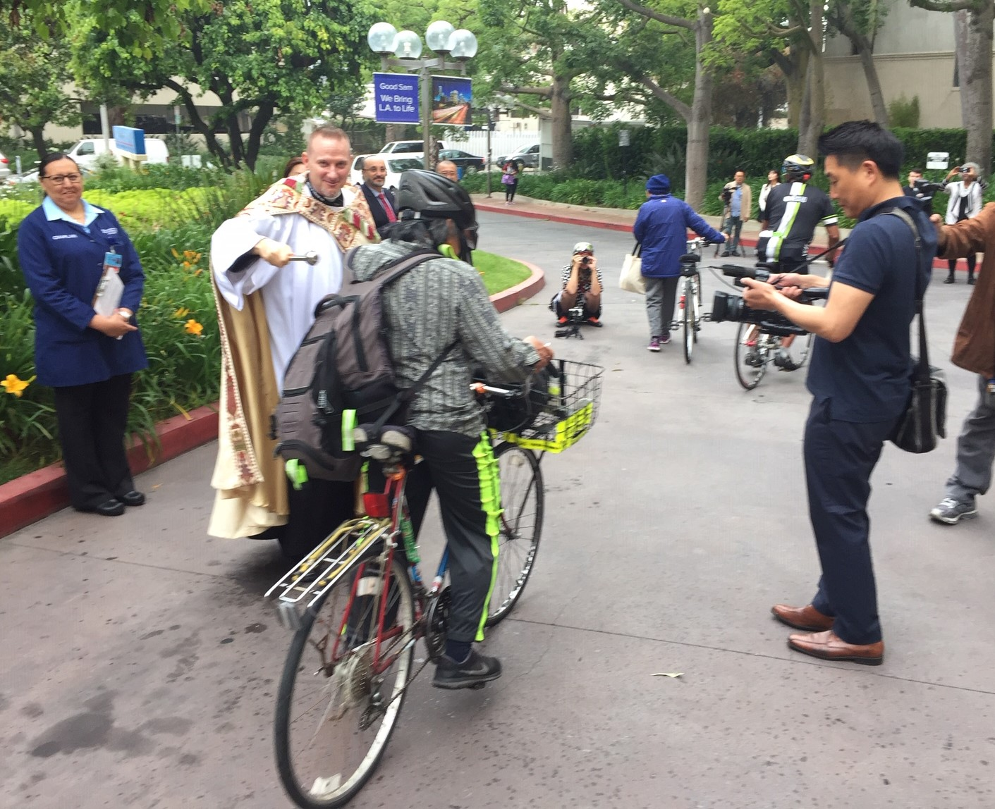 Good Samaritan Hosts 16th Annual Blessing of the Bicycles