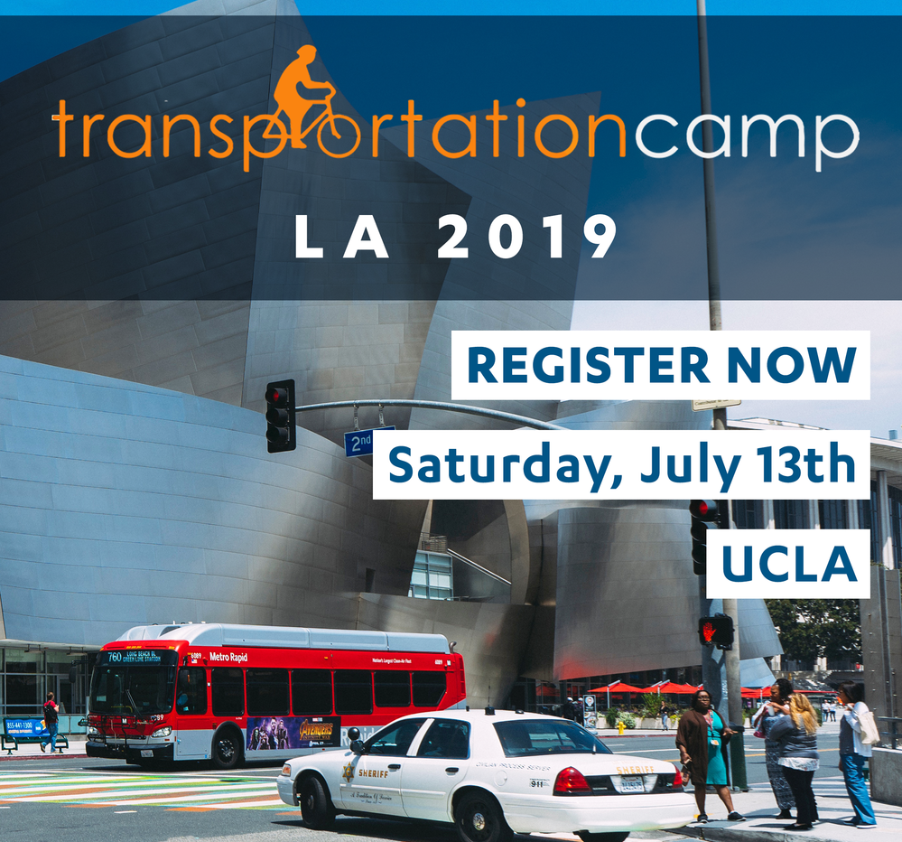Transportation Camp 2019 is this Saturday